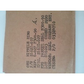 0-RING PN# S1628-027    ( LOT OF  4 PCS)            loc 10
